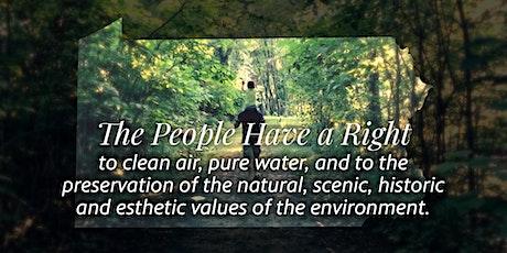 PA's Environmental Rights Amendment Celebrates 50 Years tickets