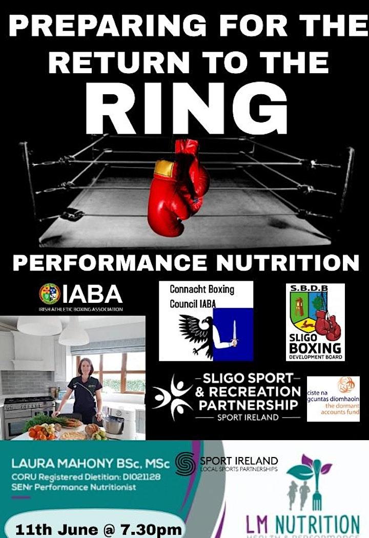 Performance Nutrition Workshop image