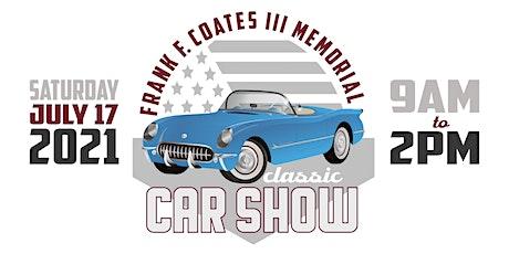Frank F. Coates III Memorial Classic Car Show tickets