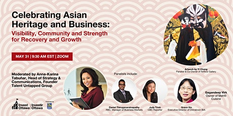Celebrating Asian Heritage and Business: Visibility, Community and Strength tickets
