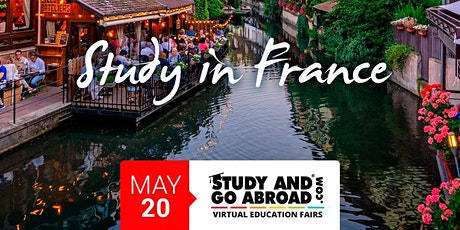 Study in France - Experience France Webinar tickets
