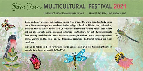 Eden Farm Multicultural Festival 2021 entry ticket and parking ticket tickets