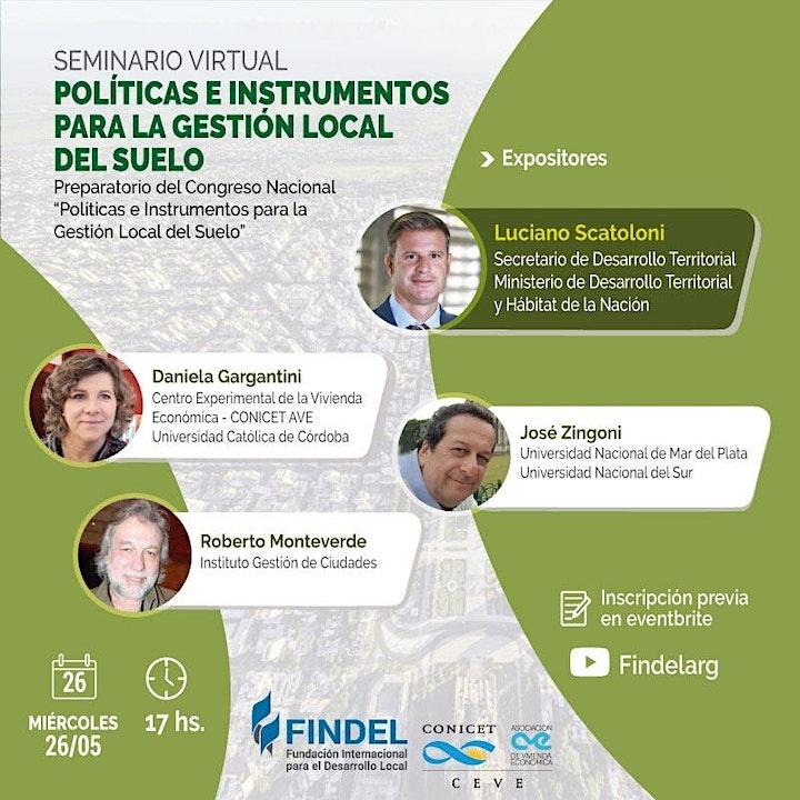 Imagen de Políticas e Instrumentos para la Gestión Local del Suelo