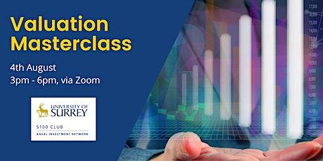 Valuation Masterclass tickets