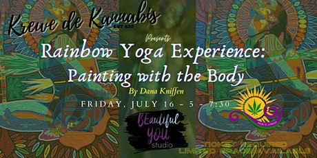 Rainbow Yoga Experience:  Painting with the Body tickets
