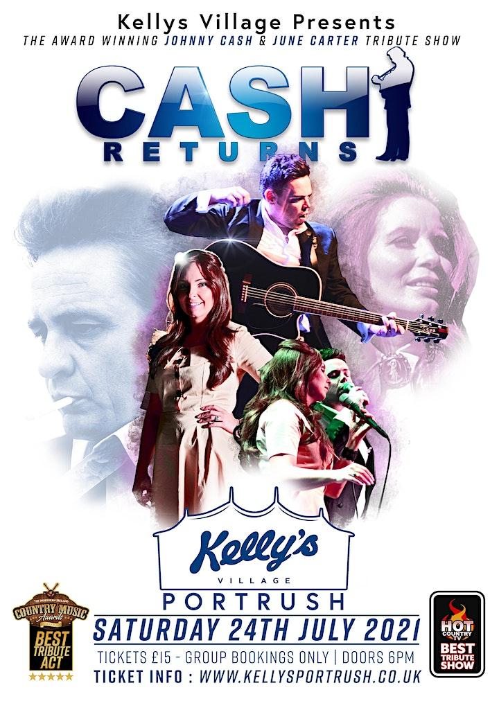 Cash Returns - Europes finest Johnny Cash Tribute Act at Kellys Village image