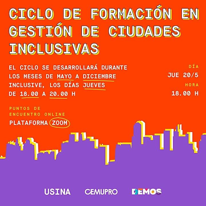 Imagen de Gestión de Ciudades Inclusivas  Ciclo de Formación Técnico-Política