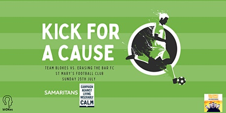 KICK FOR A CAUSE: Team blOKes vs. Erasing The Bar FC tickets
