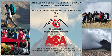 NHF & ACA 14er Edition: What to know before hiking Mt Sherman tickets