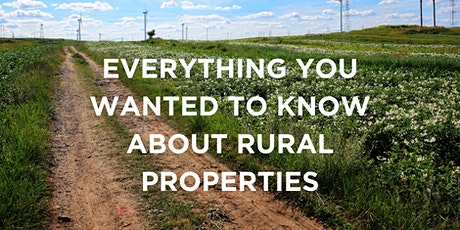 Everything You Wanted to Know About Rural Properties (#256-5110-E, 2 CEUs) tickets