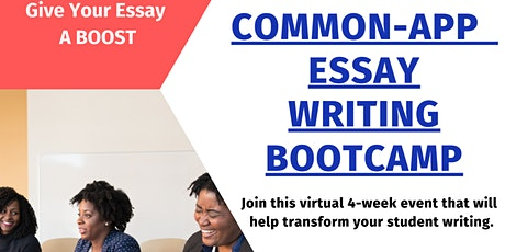 Common App/Essay and Scholarship  Bootcamp tickets