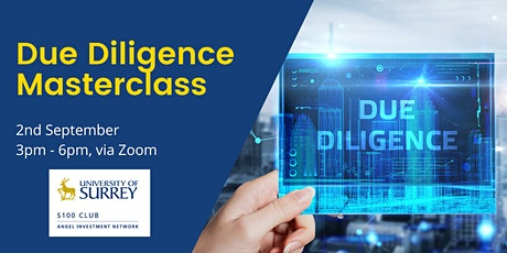 S100 Due Diligence Masterclass tickets