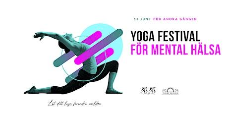 Yoga-festival för mental hälsa tickets