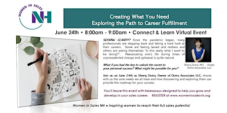 Creating What You Need: Exploring the Path to Career Fulfillment tickets
