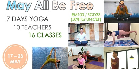 May All Be Free - Yoga Festival Week tickets