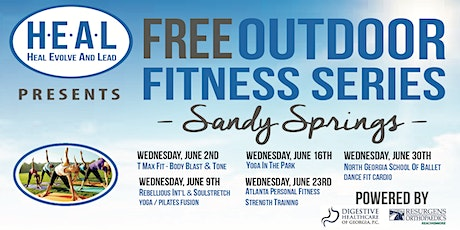 Free Outdoor Fitness - Sandy Springs tickets
