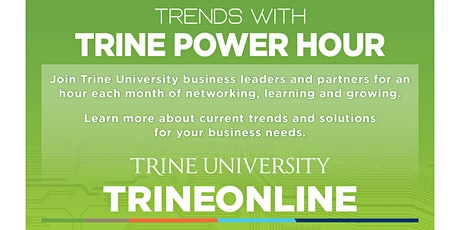 Trends with Trine Power Hour - Drug Screening, Wellness & Injury Prevention tickets
