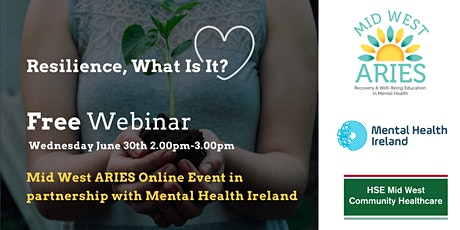Free Webinar: Resilience, What Is It? tickets