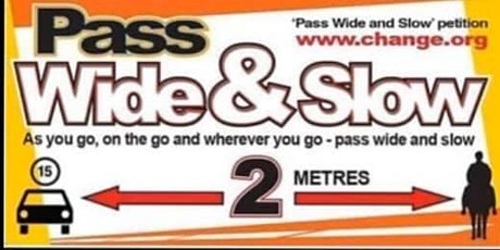 Pass Wide and Slow Awareness Ride & Drive tickets