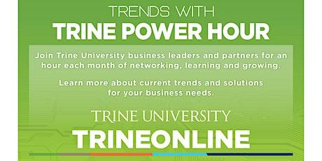 Trends with Trine Power Hour - Hybrid - TBA tickets