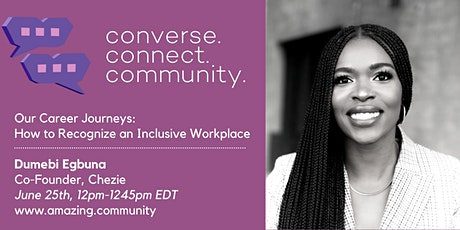 Converse.Connect.Community:  How to Recognize an Inclusive Workplace tickets