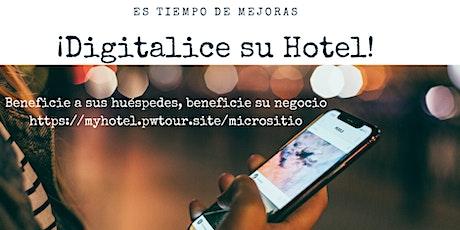 Necesito digitalizar mi hotel ? entradas