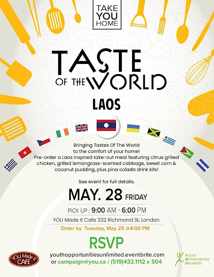 Taste of the World: Laos image