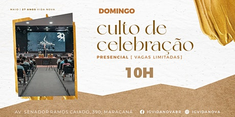 DOMINGO 16MAIO - 10H ingressos