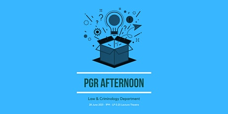 PGR Afternoon tickets
