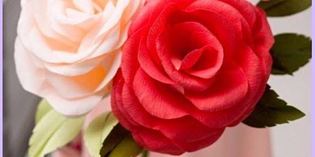 Let's Craft - Crepe Paper Roses tickets
