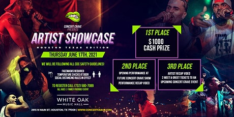 Concert Crave Artist Showcase - Houston, TX 6.17.21 tickets