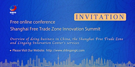 Shanghai Free Trade Zone Innovation Summit billets