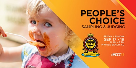 People's Choice Chili Sampling and Judging tickets