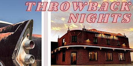 Throwback Night- Car Show Registration tickets