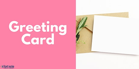 Adult Craft Kit - Greeting Card tickets