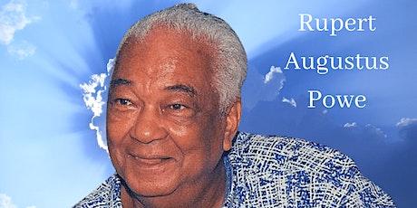 Rupert Augustus Powe Memorial Service tickets