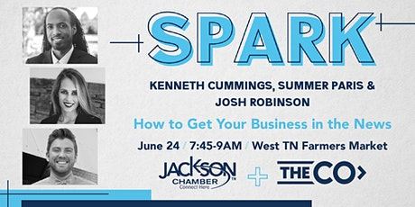 Spark: How to Get Your Business in the News tickets