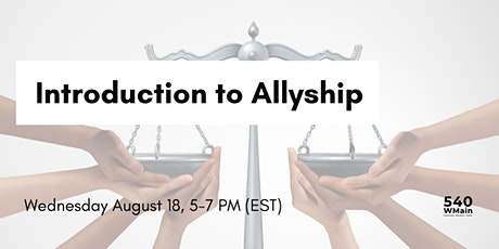 Introduction to Allyship tickets