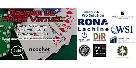 Soirée poker en ligne / Virtual poker night tickets