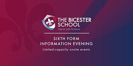 Sixth Form Information Evening tickets