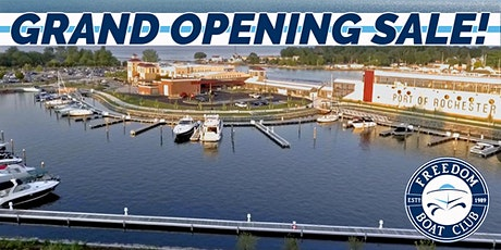 FBC Port of Rochester Grand Opening! Boating made Simple! tickets