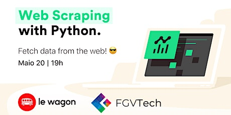 Web Scraping com Python | Le Wagon Coding Bootcamp tickets