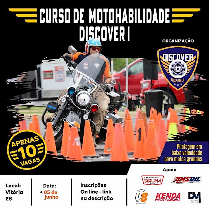 Imagem do evento Curso de Pilotagem em Baixa Velocidade - DISCOVER I - VIX/JUNHO 2021
