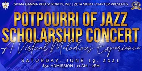 19th Annual Potpourri of Jazz Scholarship Concert tickets