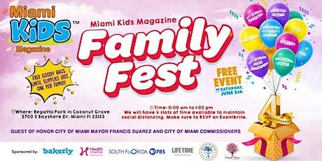 Miami Kids Magazine Family Fest 2021! tickets