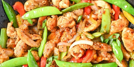 UBS - Virtual Cooking Class: Spicy Chicken Stir Fry tickets