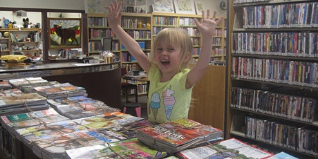 Augusta Library Friends Annual Book Sale! tickets