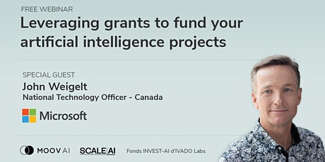 Leveraging grants to fund your artificial intelligence (AI) projects tickets