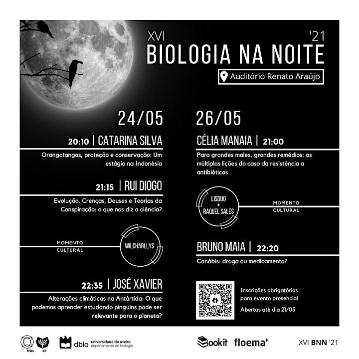 imagem 24 de maio - XVI Biologia na Noite