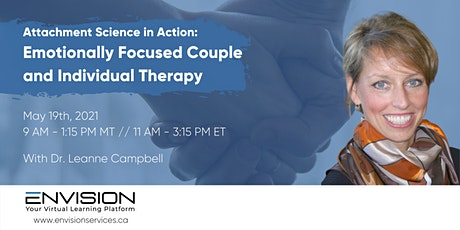 Attachment Science in Action: Emotionally Focused Couple & Individual tickets
